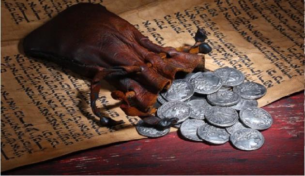Ile byłyby dziś warte srebrniki Judasza?