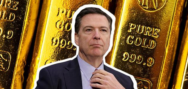 Burza w Waszyngtonie winduje ceny złota