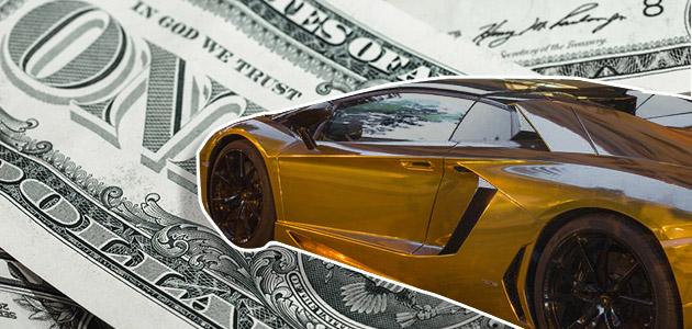 6 przedmiotów, które milionerzy pokrywają złotem