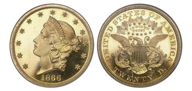 Unikatowy Double Eagle sprzedany za 517 tys. dolarów!